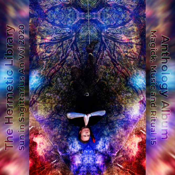 Cover of Magick, Music and Ritual 15, Hermetic Library Anthology Album for 2020