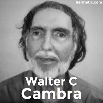 Hermetic Library Fellow Walter C Cambra