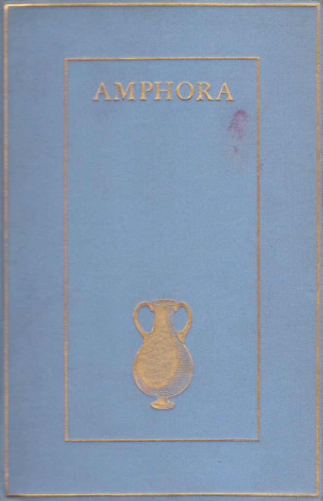 Amphora by Aleister Crowley
