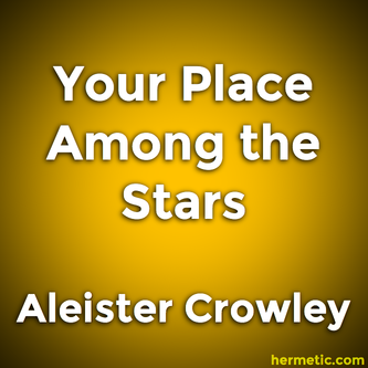 Astrology Your Place Among the Stars by Aleister Crowley and Evangeline Adams
