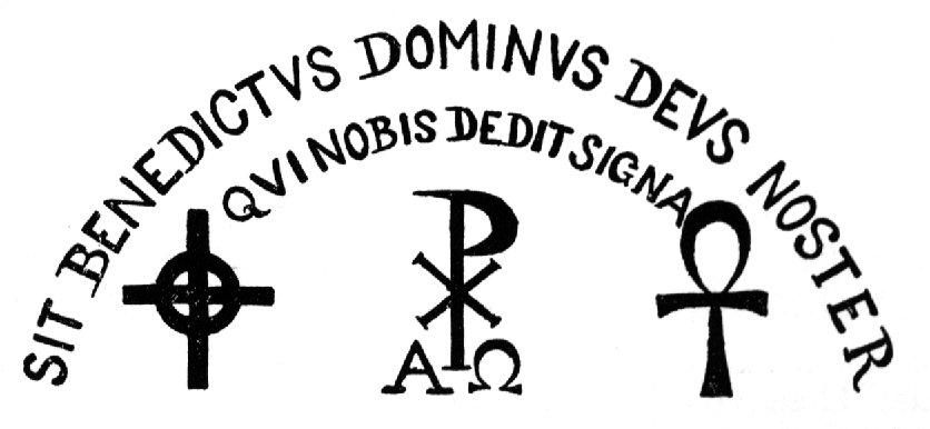 Sit Benedicus Dominus Deus Noster Quinobius Deditsignia