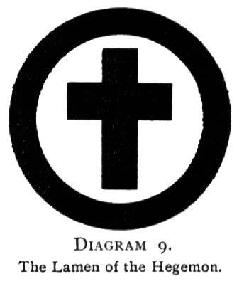 Diagram 9. The Lamen of the Hegemon.