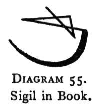 Diagram 55. Sigil in Book.