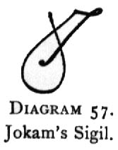 Diagram 57. Jokam's Sigil.