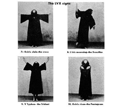 7-10. The L V X signs.