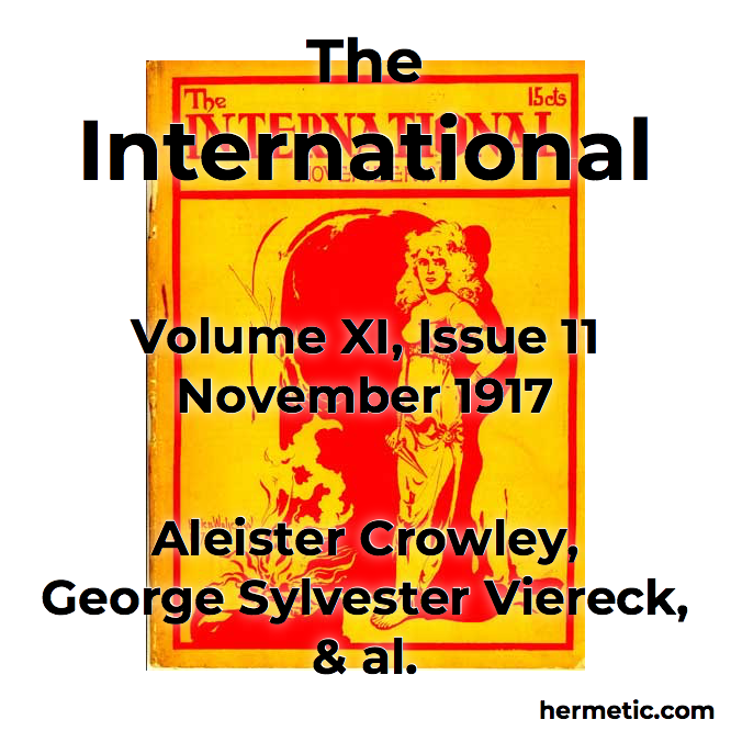 The International vol XI iss 11