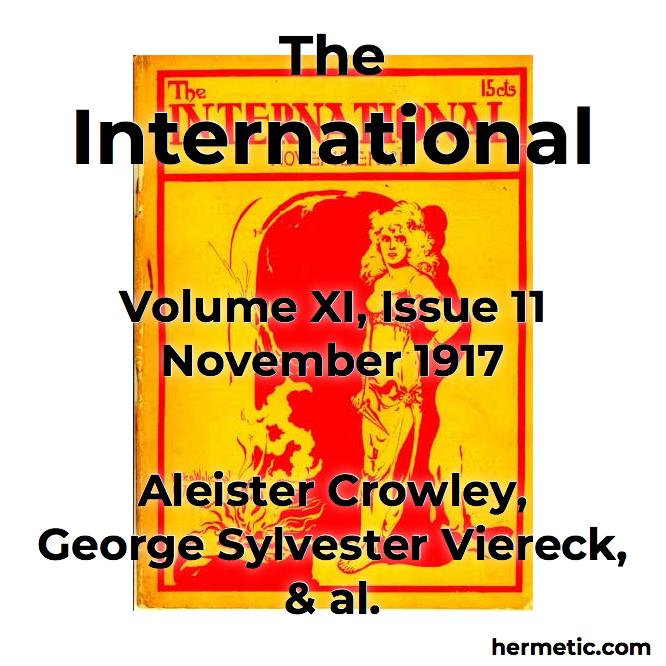 The International vol XI iss 11