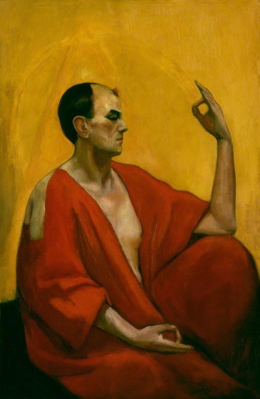 Un Retrato del Maestro Therion por Leon Engers Kennedy