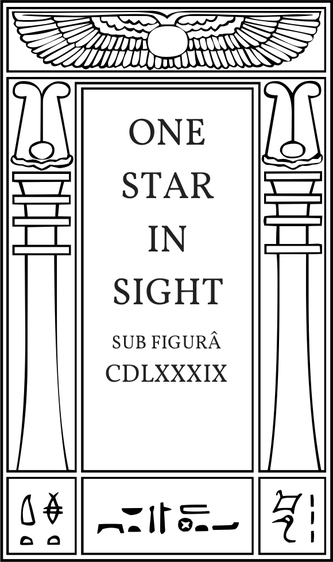 One Star in Sight sub figurâ CDLXXXIX