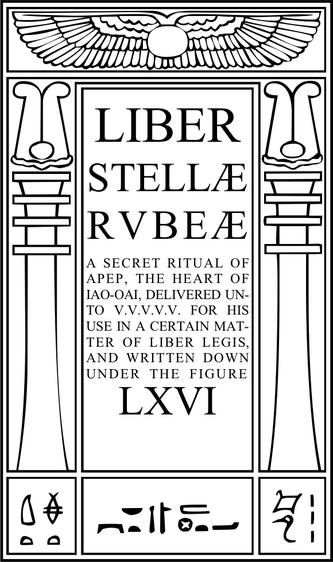Liber Stellæ Rubeæ sub figura LXVI