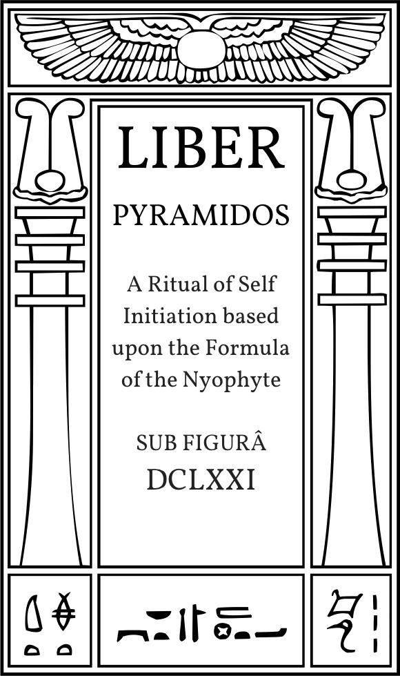 Liber Pyramidos sun figurâ DCLXXI