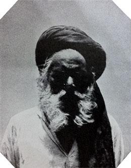 Mahatma Sri Paramanda Guru Swamiji, from a photograph taken in Seringapatam