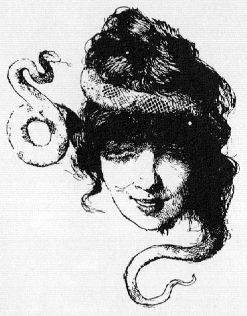 VAMPIRE GIRL BY W. M. BERGER