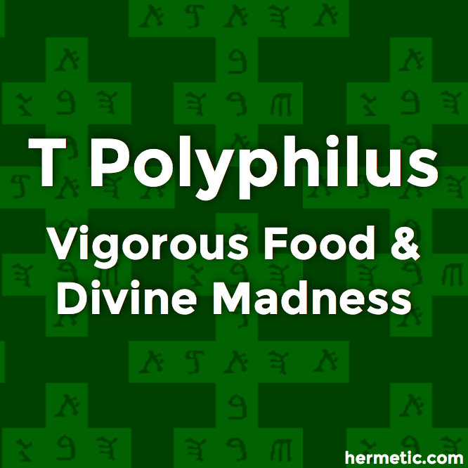 M Dionysius Rogers and T Polyphilus