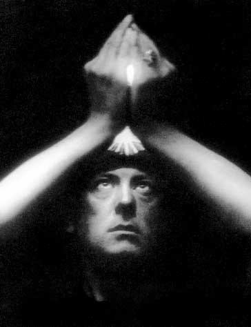 Many associate Aleister Crowley with Darkness, but his eyes were always towards the Light.