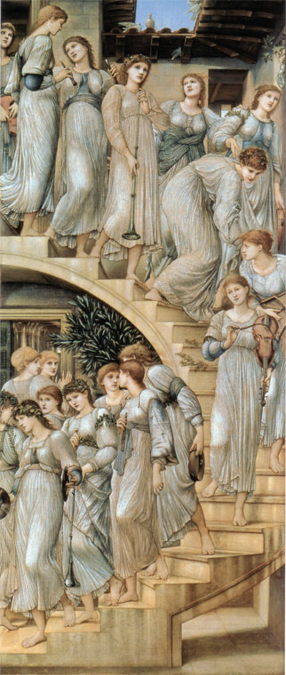 """The Golden Stair"" by Edward Burne Jones"