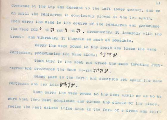 Whare Ra Pentagram Ritual - Page 15