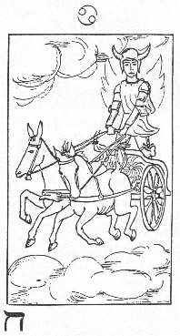 The Chariot in Whare Ra's Golden Dawn Tarot