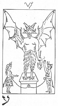 The Devil in Whare Ra's Golden Dawn Tarot