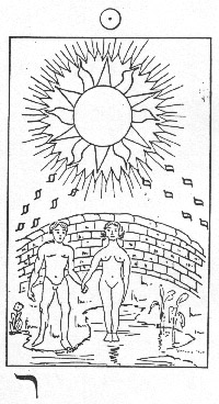 The Sun in Whare Ra's Golden Dawn Tarot