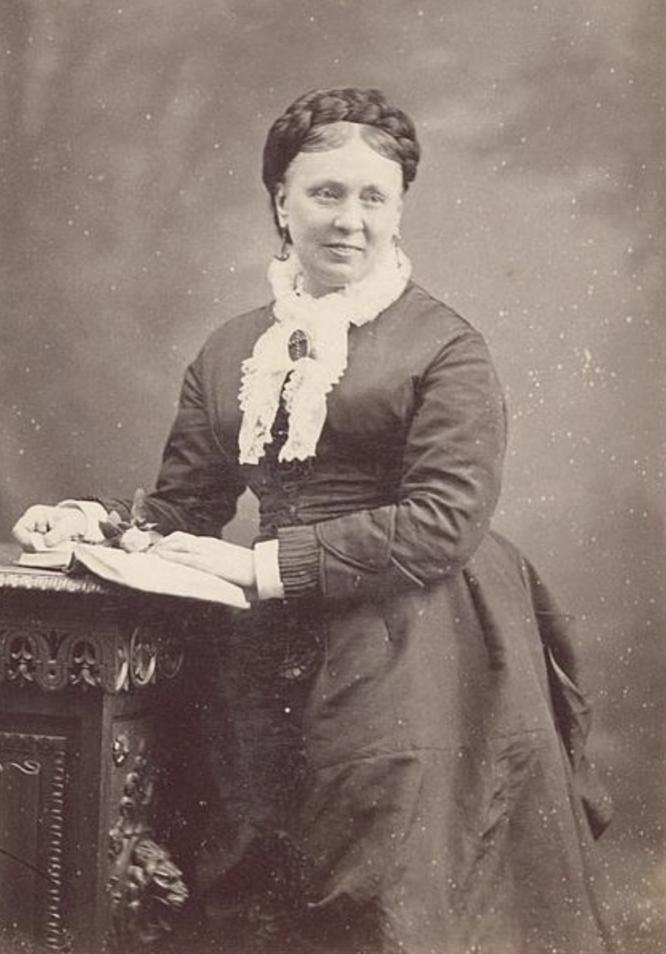 Emma Hardinge Britten in Hermeneuticon at Hermetic Library