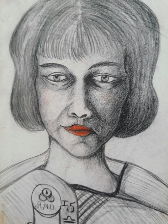 Hanni Jaeger illustration by Aleister Crowley