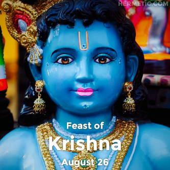 Feast of Krishna in Hermeneuticon at Hermetic Library