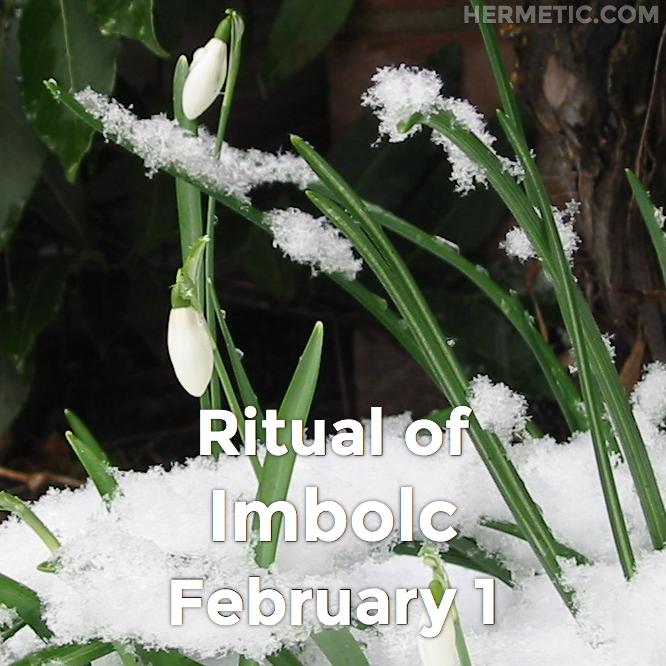 Ritual of Imbolc in Hermeneuticon at Hermetic Library