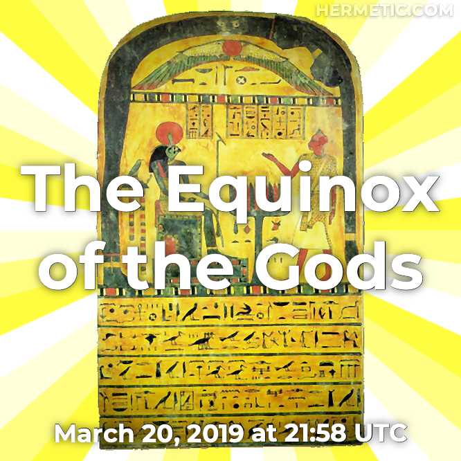 The Equinox of the Gods, Spring Equinox, 1904 in Hermeneuticon at Hermetic Library