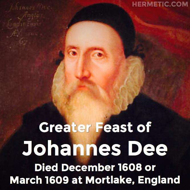 John Dee, Johannes Dee, in Hermeneuticon at Hermetic Library