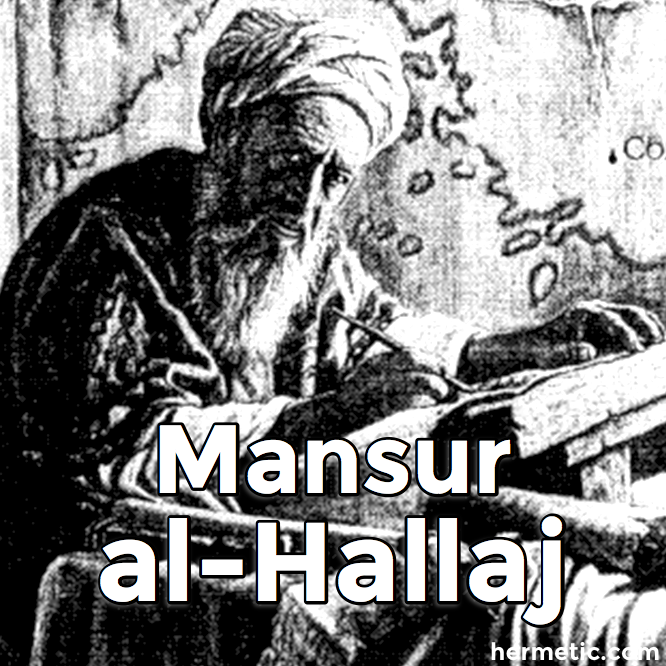 Mansur al-Hallaj at Hermetic Library