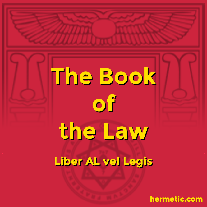 Liber Legis The Books of the Law