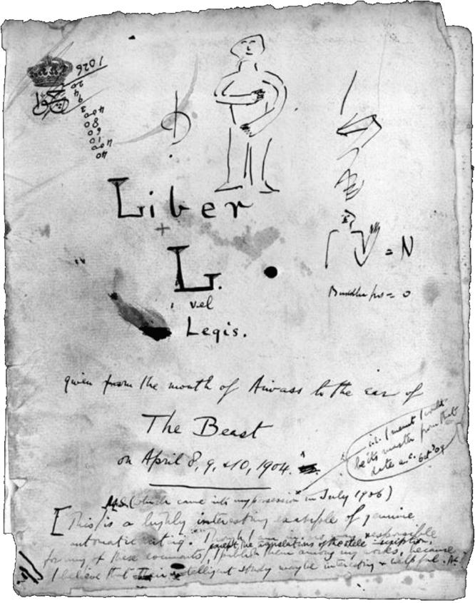 Liber L vel Legis sub figura XXXI