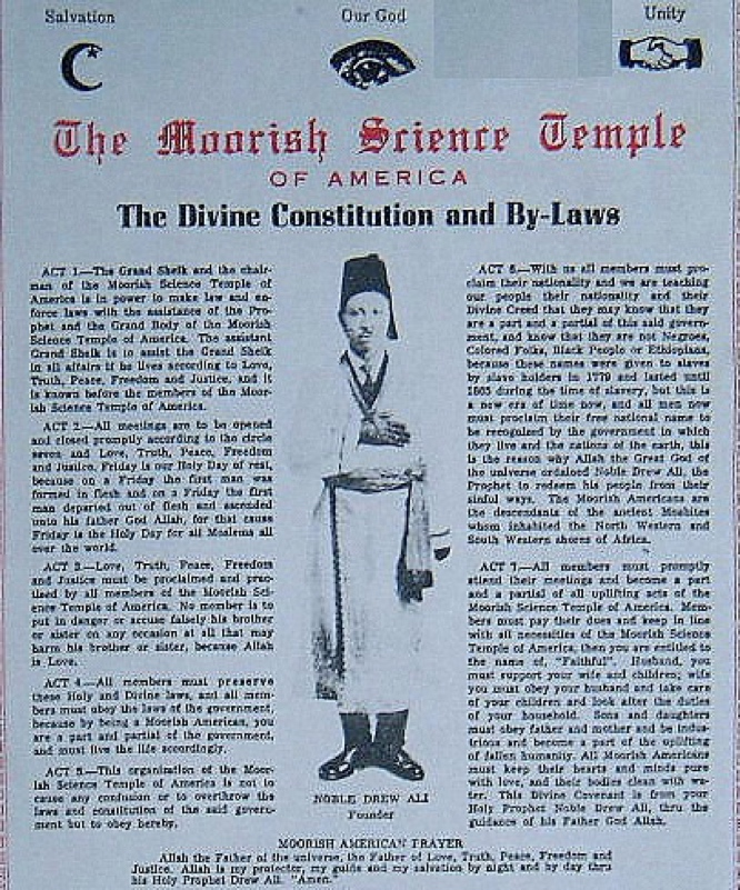 The Divine Constitution and By-Laws - Prophet Noble Drew Ali