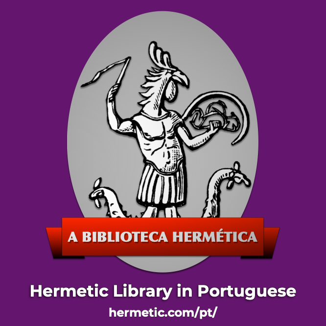 A Biblioteca Hermética, The Hermetic Library in Portuguese